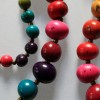 Fair Trade Rainbow Bead Necklace