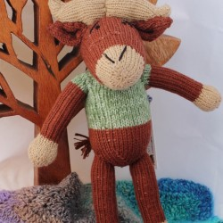 Fair Trade Handknitted Buffalo