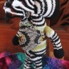 Fair Trade Zebra Mother and Baby